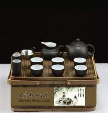 雅仕轩茶具套装纯手工竹编工艺手工紫砂茶具茶杯礼品礼盒 混批