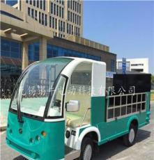 四川成都2噸電動垃圾駁運車,裝桶式垃圾運輸電瓶車