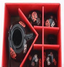 新年礼品季厂家直销日式茶具礼品套装 功夫陶瓷茶壶杯子 一壶四杯