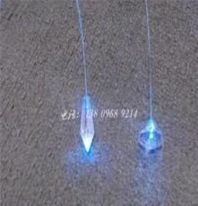 銷售光纖燈水晶吊墜 水晶球 頭 光纖水晶尾燈