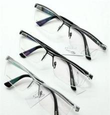 捷豹36019纯钛眼镜架批发 深圳高档品牌捷豹眼镜架批发
