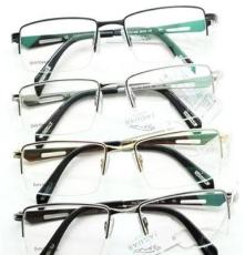 捷豹36011纯钛眼镜架 超轻钛架眼镜框 深圳眼镜批发