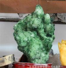 新款特價售天然綠水晶晶族消磁辟邪招財支持零售 批發