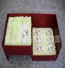 伟杰高档红茶礼品,双层红茶礼品盒包装 茶漏 厂家直销 瓷器套装