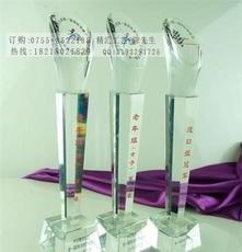 南京公司勞動模范水晶獎杯獎牌定做,最佳合作獎獎杯批發