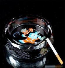 圓形煙灰缸 廣州水晶煙灰缸廠銷售圓形水晶煙灰缸可刻字印照片
