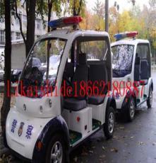 江西吉安电瓶巡逻车 物业校园治安执勤/全封闭5座8座电动巡逻