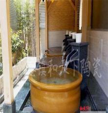上海陶瓷日式韩式极乐汤洗澡泡澡大缸 陶瓷韩式洗浴大缸