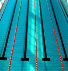 供應湖南泳池配件泳道線比賽分道線批發