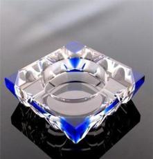 浦江生產廠家供應水晶煙缸八角四方棱形拼角K9煙缸可按要求定制