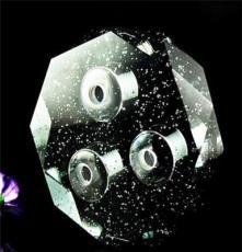 供應浦江水晶燈罩 K9汽泡料創意水晶燈飾配件燈具古鎮生產點