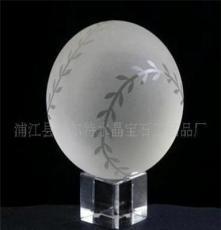 (批發)供應2012新穎水晶禮品 水晶球 水晶玻璃球 水晶高爾夫球