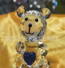 廠家直銷高檔k9水晶小動物圣誕節禮品