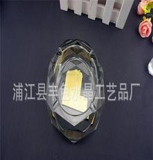 八角款水晶煙灰缸,LOGO定制新穎,廠家直銷,來款定制