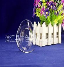 8CM桃形小煙缸 水晶煙灰缸廠家直銷 酒店用品 促銷禮品 可打標