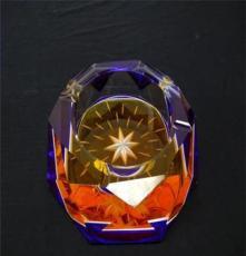 時尚新品 水晶漆彩煙缸 促銷定制禮品 廣告禮品
