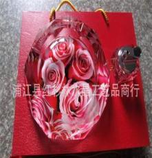 自產自銷 水晶煙灰缸工藝品 水晶商務工藝品 定制各種工藝煙灰缸