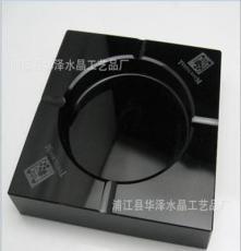 廠家直銷 定做彩色水晶煙灰缸 黑色水晶煙灰缸 黃色水晶煙灰缸