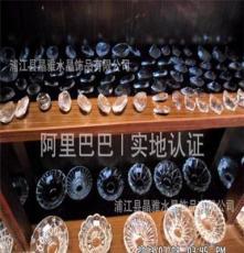廠家直銷水晶貼片批發 紫荊花 玻璃水晶貼片 水晶玻璃裝潢貼片