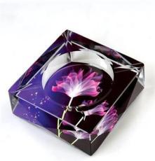 現貨銷售 圓形水晶煙灰缸 精美水晶煙灰缸