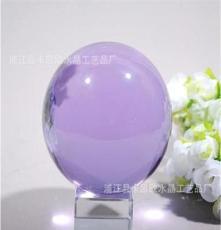廠家水晶球 天然水晶球 七彩水晶球 3-30cm人造水晶球皆可定做
