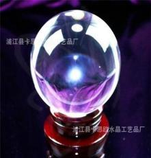 (廠家直銷)水晶球 外貿水晶球 水晶球批發 浦江水晶廠