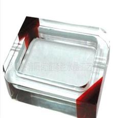 供應水晶煙缸 浦江水晶水晶煙灰缸 水晶工藝品定制批發量大優惠