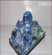 廠家直銷正品K9水晶葡萄水晶汽車香水座汽車用品批發汽車內飾擺件