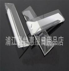 水晶燈飾配件 水晶窗簾配件 水晶三角條 廠家直銷 可定制
