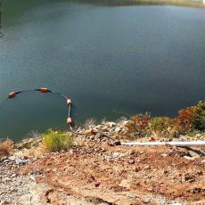 淘金船管線托浮浮體30公分抽沙管浮桶尺寸