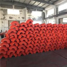 10米抽沙管配幾套管道浮體浮漂