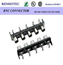 BNC音視頻插頭  BNC 1*5 90°連接器