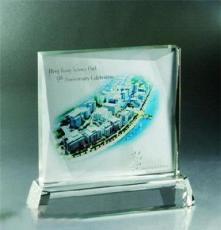 年底公司定制水晶彩印工藝品水晶影象紀念品