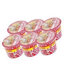 公仔迷你碗面海鲜味34g*6 口感佳 质量保证!深圳低价 俊歌商城