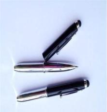 电容笔 led灯电容笔 三合一手写笔 iphone触控笔 触屏笔 厂家直销