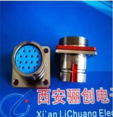圓形連接器24芯插座帶孔 Y27F-2224ZKBM  全新實物圖拍攝