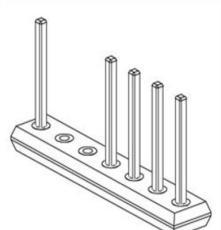 ZIERICK 通孔 贴片连接器 插针 针座 H1-10-750-T-SP
