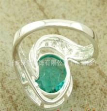 珠寶首飾 庫存產品 飾品批發 波西米亞風格 OL風飾品 綠晶石戒指