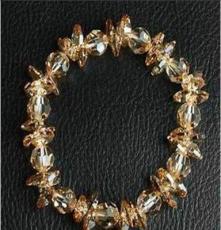 新款奧地利水晶手鏈 精美手工編織手鏈
