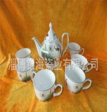 山东淄博博山陶瓷工艺品餐具茶具厂家直销酒店用瓷