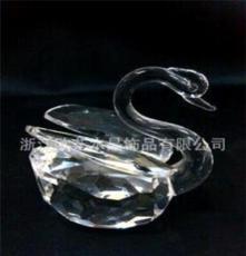 水晶小動物 水晶天鵝 專業生產批發(可定做)