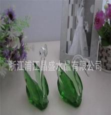 水晶天鵝、水晶動物系列、水晶生肖系列、廠家直銷浦江水晶