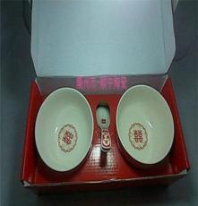 廠家特價 婚慶陶瓷對碗 創意韓式碗 廣告禮品 餐具套裝 定制青花
