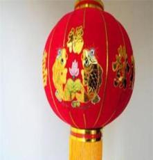 厂家直销 各种规格植绒灯笼 植绒广告灯笼