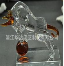 廠家定做水晶動物 水晶馬 水晶牛 水晶屬相 款式各異