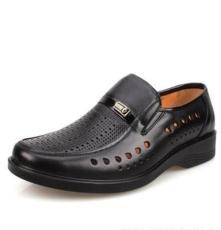 2013年厂家批发男士洞洞鞋 镂空皮鞋