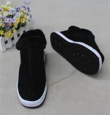 黑棉鞋 白边防滑底棉鞋(35-44码)