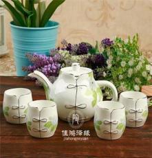 唐山优级骨瓷茶具5头套装 精装 陶瓷茶具 功夫整套茶具 茶壶