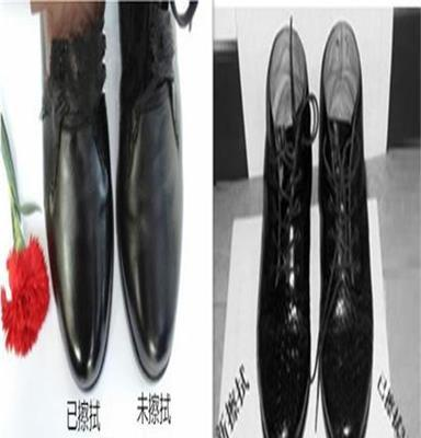 供应鞋面革面皮皮鞋防冻含鞋油擦鞋巾