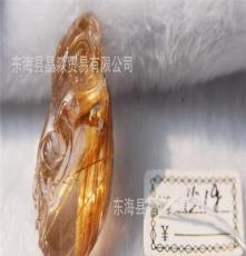 天然 鈦晶 龍 雕件